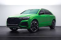 Audi RS Q8 in Java Green