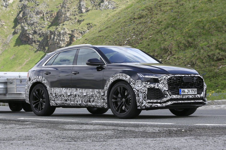 Audi RS Q8 - Poze spion