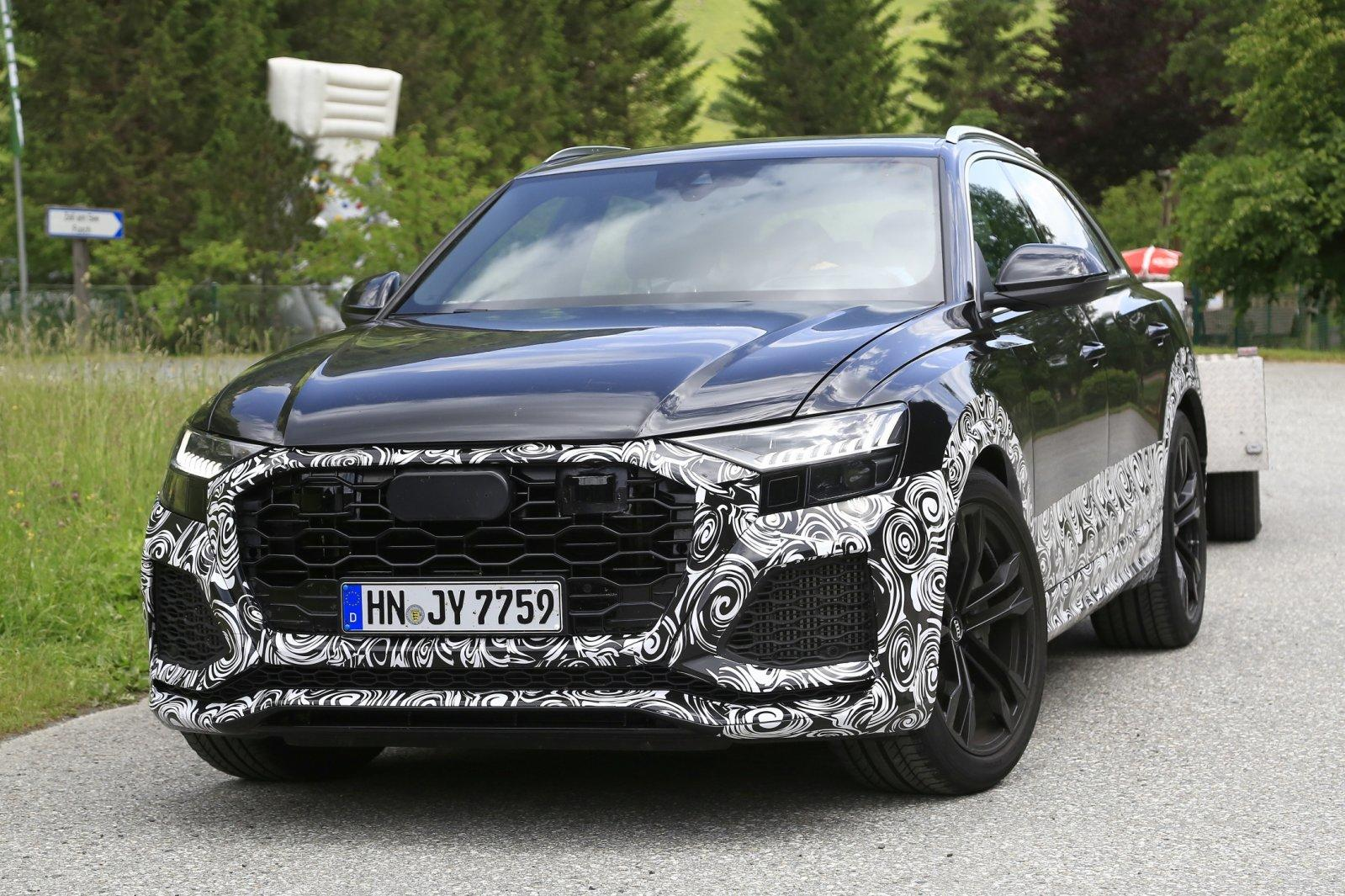 Audi RS Q8 - Poze spion - Audi RS Q8 - Poze spion