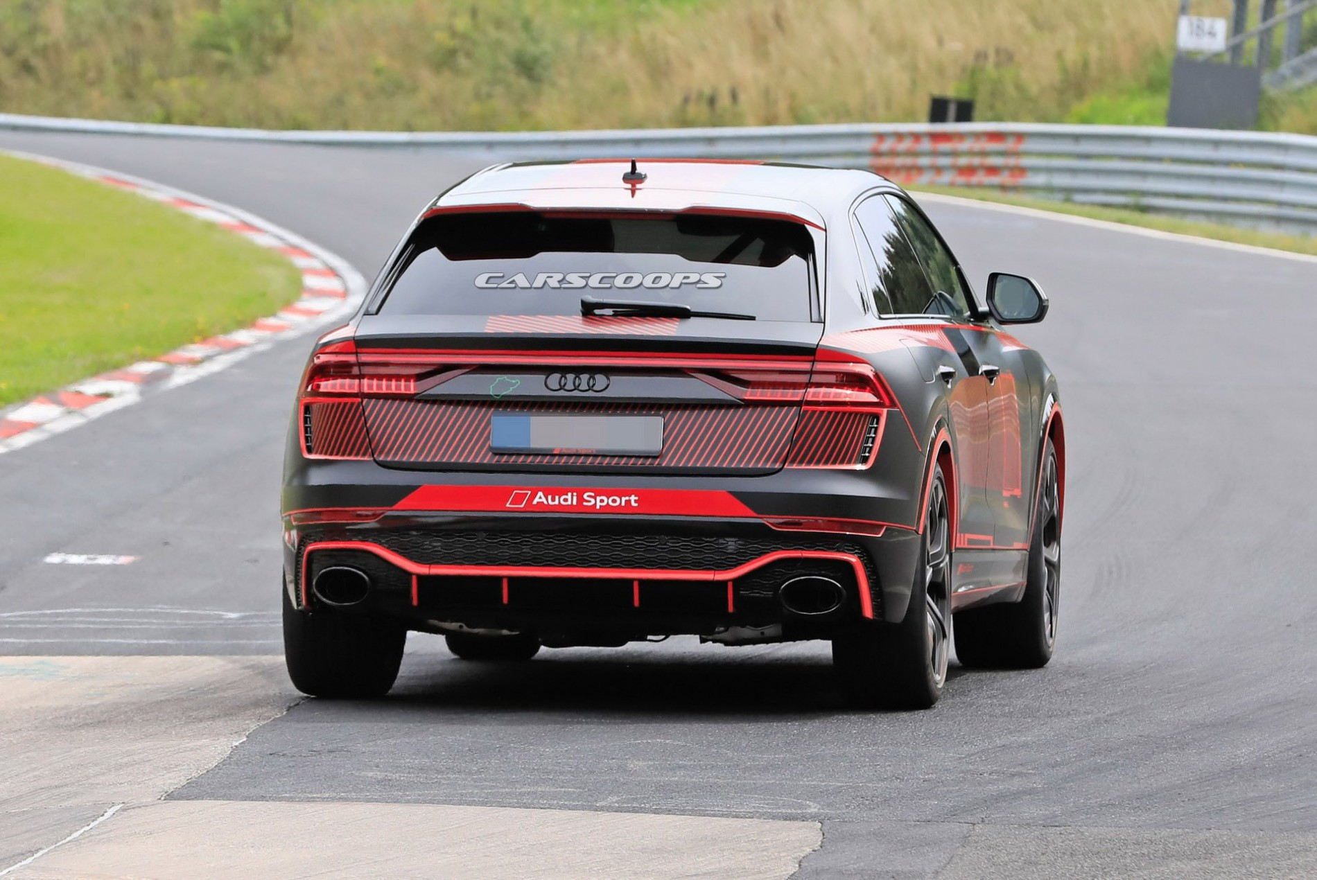 Audi RS Q8 poze spion - Audi RS Q8 poze spion