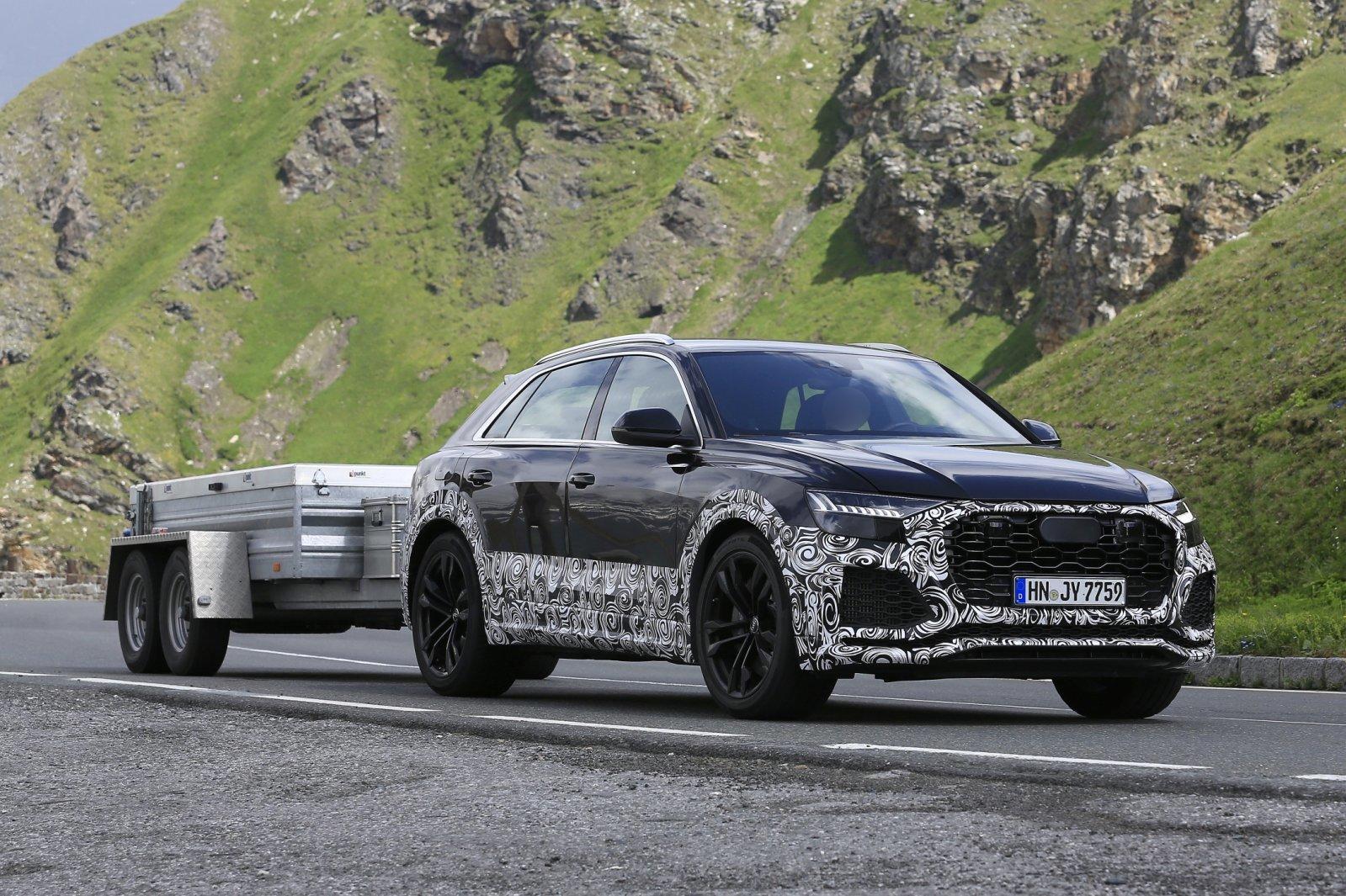 Audi RS Q8 - Poze spion - Audi RS Q8 - Poze spion