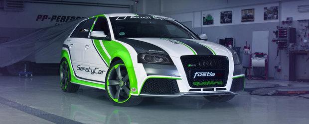 Audi RS3 de la Fostla: Viu colorat si cu 450 CP sub capota!