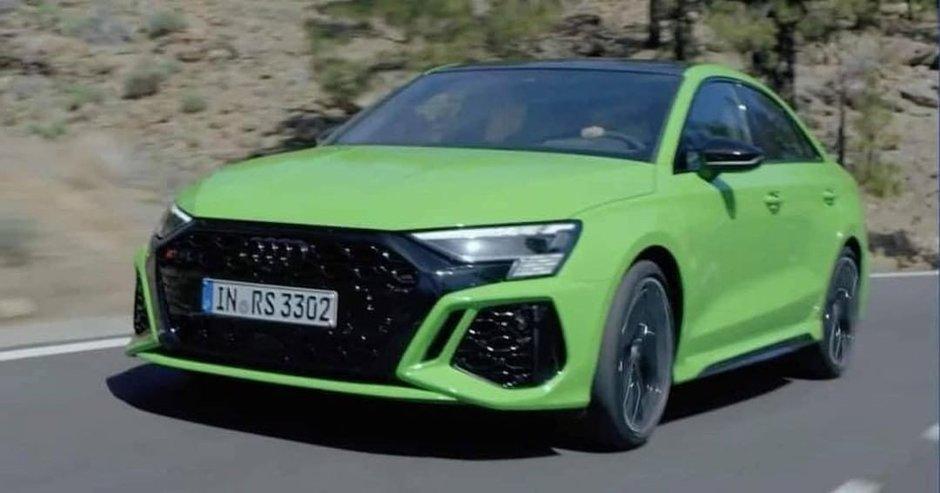 Audi RS3 Sedan - Primele poze
