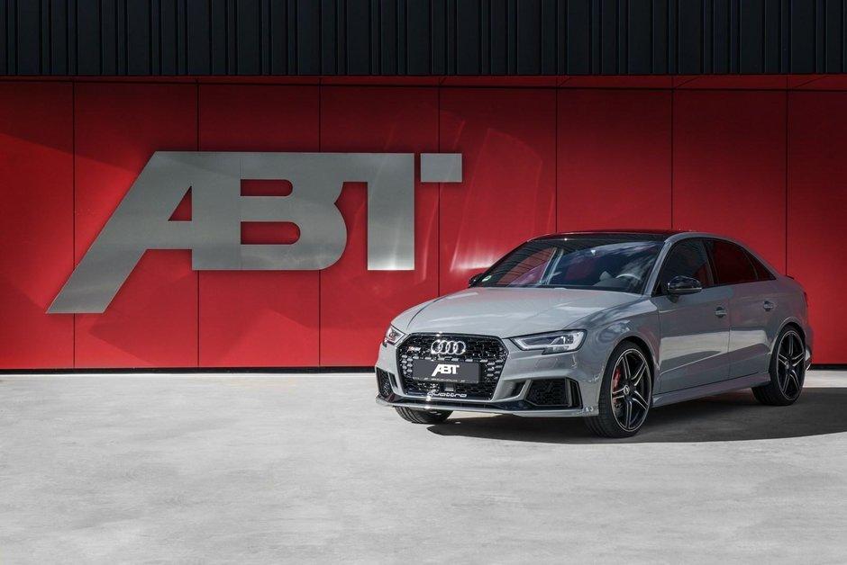 Audi RS3 Sedan si Sportback de la ABT