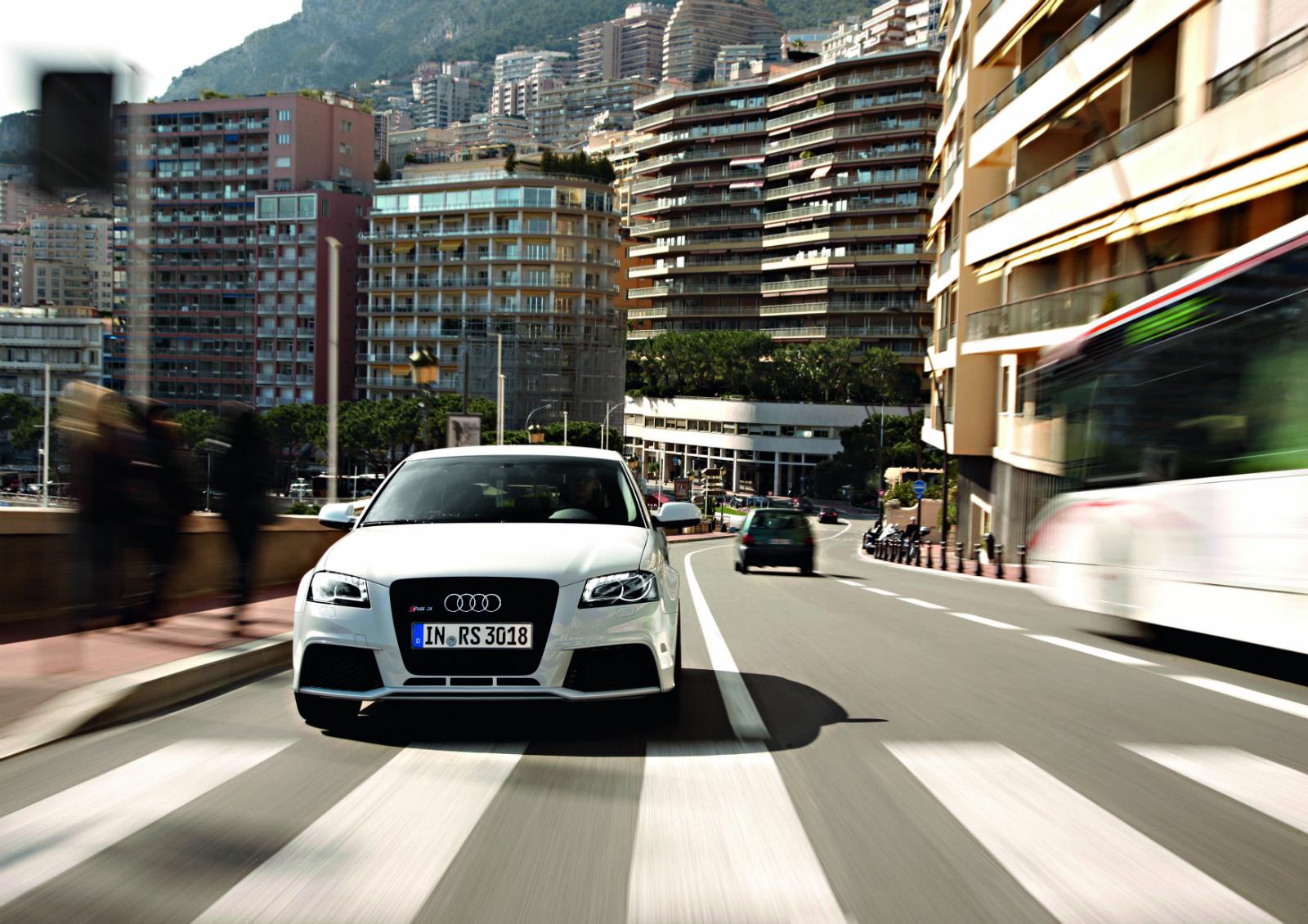 Audi RS3 Sportback in Monaco - Audi RS3 Sportback in Monaco