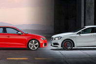 Audi RS3 Sportback vs Mercedes A45 AMG