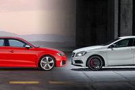 Audi RS3 Sportback vs Mercedes A45 AMG