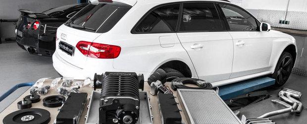 Audi RS4 Avant de la Mcchip-DKR: motor V8, compresor mecanic si alte bunatati