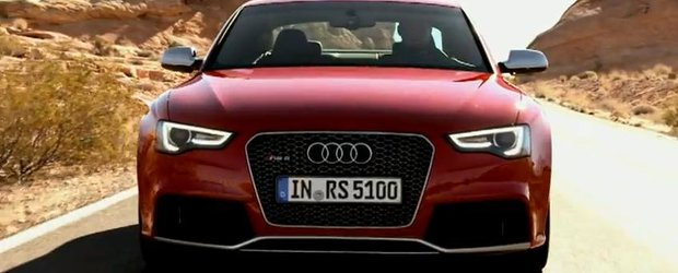 Audi RS5 2013 - video promotional