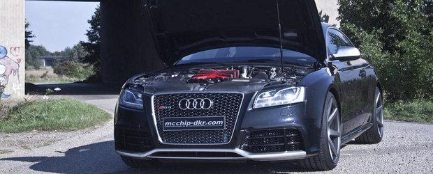 Audi RS5 by McChip: Compresor mecanic si pana la 600 cai putere!