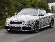 Audi RS5 Cabrio - Noi Poze Spion