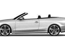 Audi RS5 Cabrio - Primele fotografii oficiale