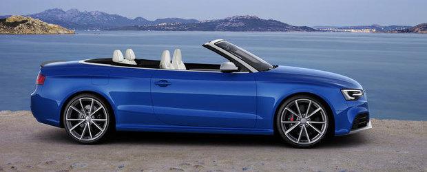 Audi RS5 Cabriolet in 21 de imagini memorabile