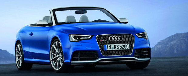 Audi RS5 Cabriolet - Senzatii tari in aer liber