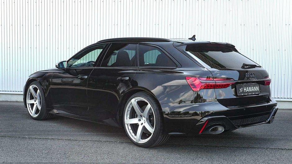 Audi RS6 Avant cu jante pe 22 si 23 de inch de la Hamann