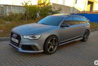 Audi RS6 C6 transformat in C7