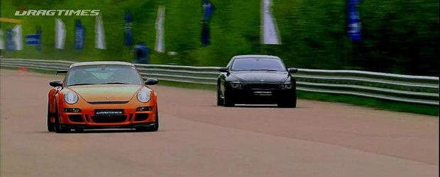 Audi RS6 Evotech. BMW M6 ASR. 9ff 911 GT3 RS. 2.650 cai putere se iau la intrecere