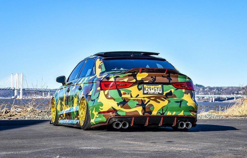 Audi S3 Camo
