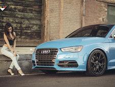 Audi S3 cu jante Vorsteiner V-FF 103