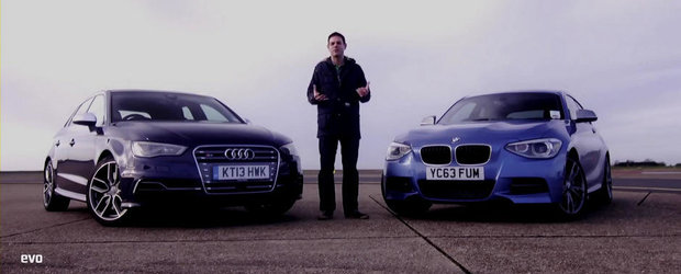 Audi S3 vs BMW M135i: Care-i mai rapid pe circuit?