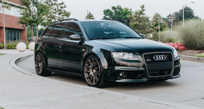 Audi S4 transformat in RS4 - Audi S4 transformat in RS4