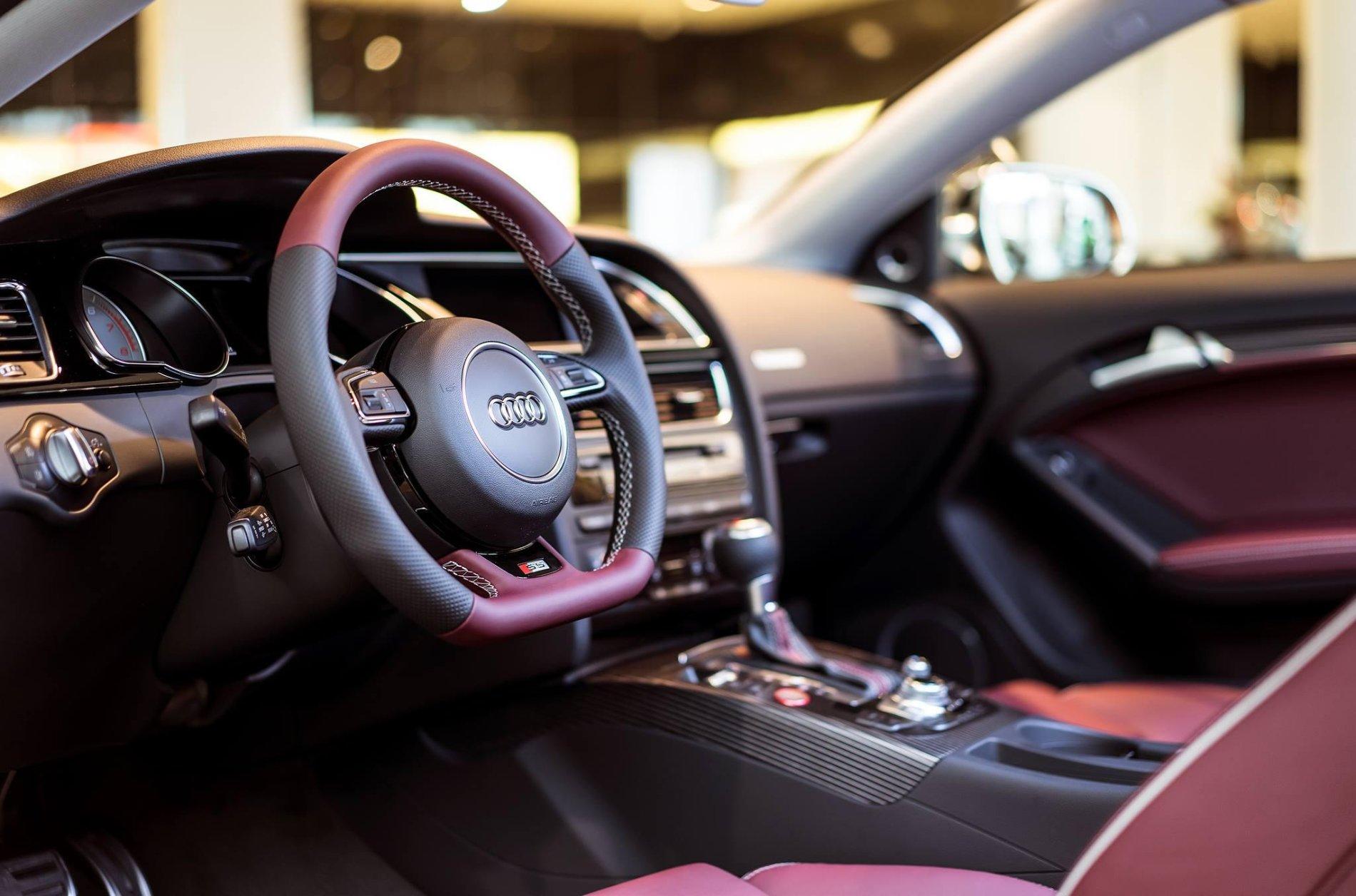 Audi S5 in Mahogany Mica - Audi S5 in Mahogany Mica