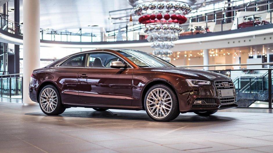Audi S5 in Mahogany Mica