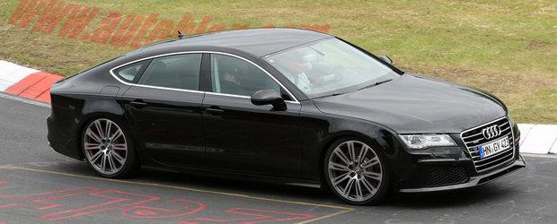Audi S7 - primele poze cu masina fara camuflaj