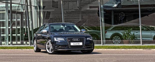 Audi S8 a sosit in Romania. Afla pretul de baza!