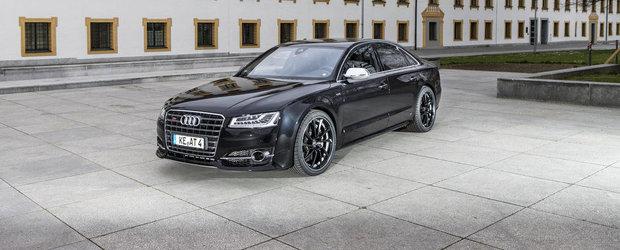 Audi S8 cu 640 CP, de la ABT Sportsline: cine mai are acum nevoie de un RS8?