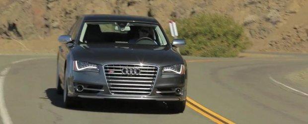 Audi S8 vs. BMW Alpina B7: cine primeste premiul de limuzina sportiva exclusivista?