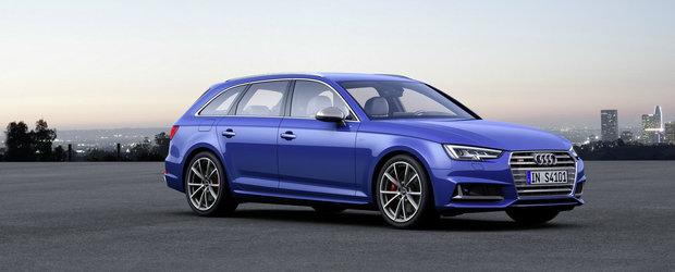 Audi scoate la lumina noul S4 Avant. Breakul german ofera performante demne de o masina sport