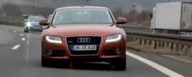 Audi se inclina ca motocicleta - viitorul suspensiilor auto