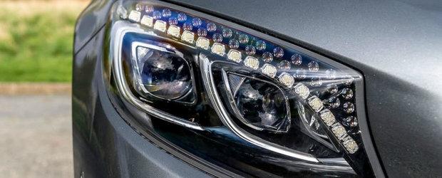 Audi si BMW nu pot concura cu asa ceva. Noua masina de la Mercedes are faruri cu cristale Swarovski care...