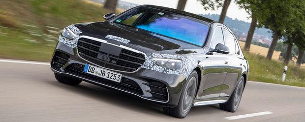 Audi si BMW nu vor putea concura cu asa ceva. Mercedes lucreaza la o versiune cu peste 800 CP a noului S-Class