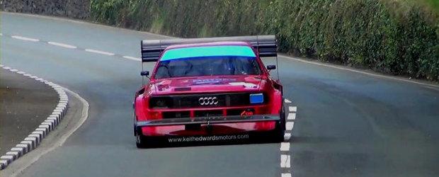 Audi Sport Quattro, 800 CP si Isle of Man. Motorsportul in cea mai extrema forma a sa!