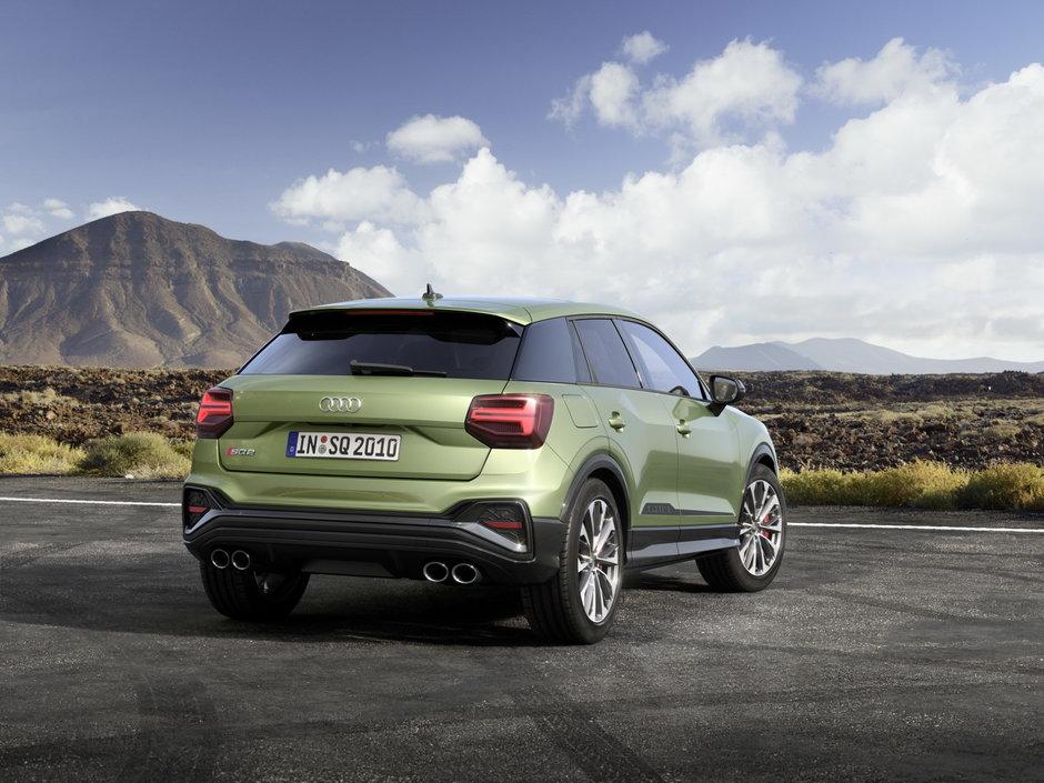 Audi SQ2 Facelift