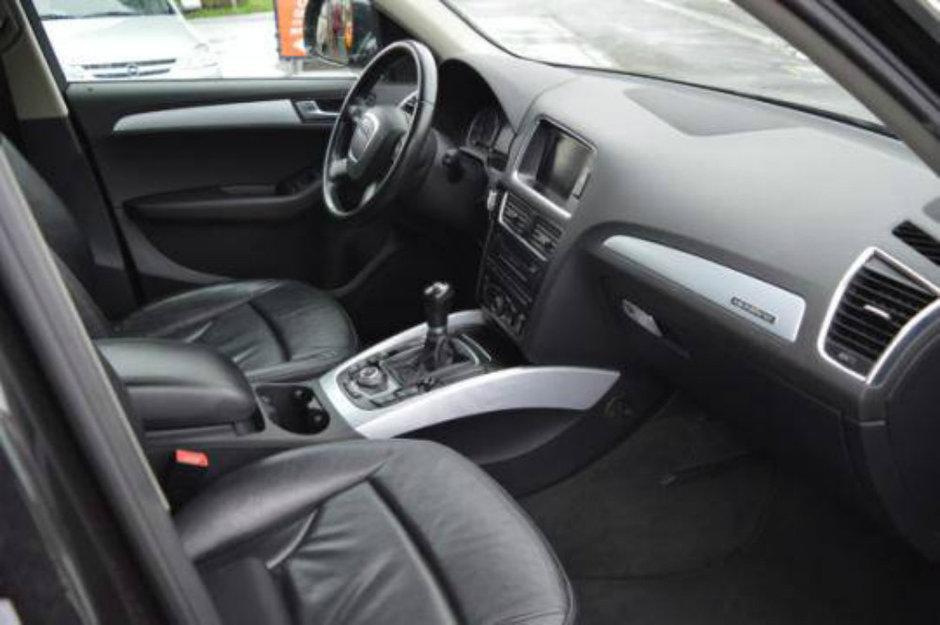 Audi SQ5 cu transmisie manuala
