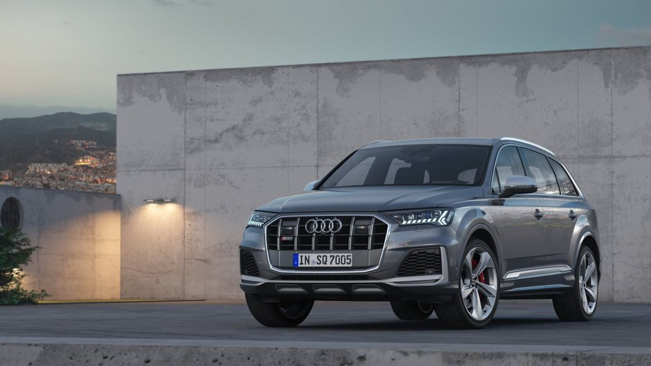 Audi SQ7 TDI Facelift