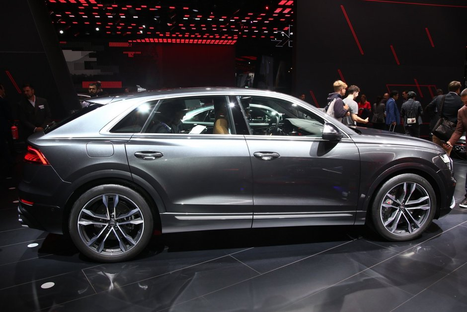 Audi SQ8 TDI - Poze reale