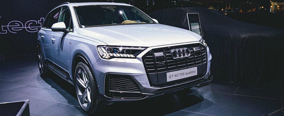 Audi tocmai a ieftinit noul Q7 cu aproape 5.000 de euro. Uite cat costa acum SUV-ul german pe piata auto din Romania
