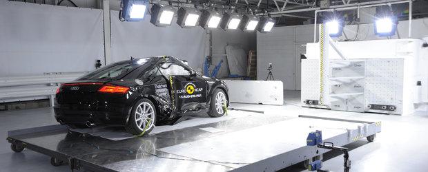 Audi TT 2015 primeste 4 stele din 5 la testele de siguranta Euro NCAP
