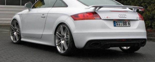Audi TT-RS la puterea B&B... Egal 450 CP si 640 Nm!