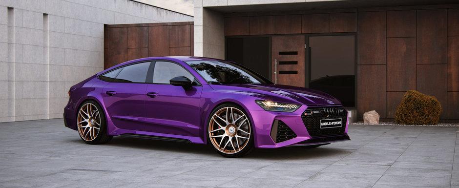 Audi-ul cu care niciun BMW nu indrazneste sa se intreaca. Are 1.045 de cai sub capota si face suta la fel de repede ca un Bugatti