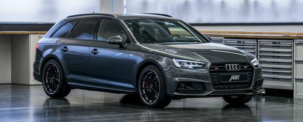 Audi-ul S4 tunat de ABT promite 419 cai putere si 0-100 in 4.7 secunde