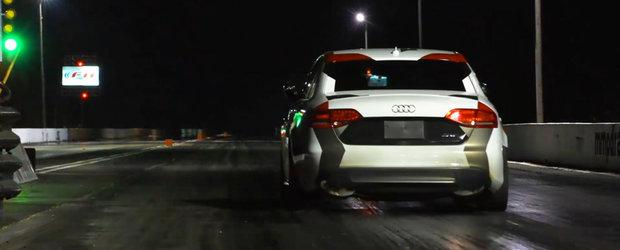 Audi-ul S4 tunat de APR Performance a doborat lejer un record mondial pe 402 metri