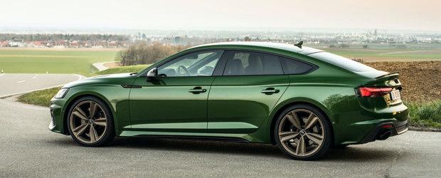 Audi vrea sa te faca sa uiti de tot ce inseamna alternativa si publica noi imagini oficiale cu RS5 Facelift