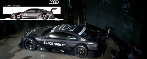 Audi vs BMW: Batalia se muta in DTM!