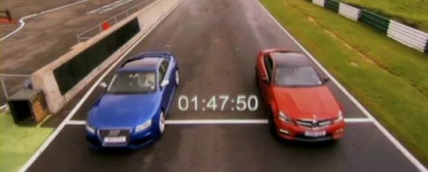 Audi vs Mercedes: RS5 si C63 AMG Coupe lupta pentru suprematie