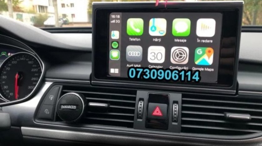 AUDI VW CarPlay Android Auto WAZE GOOGLE Golf Passat A3 A4 A6 A7 A